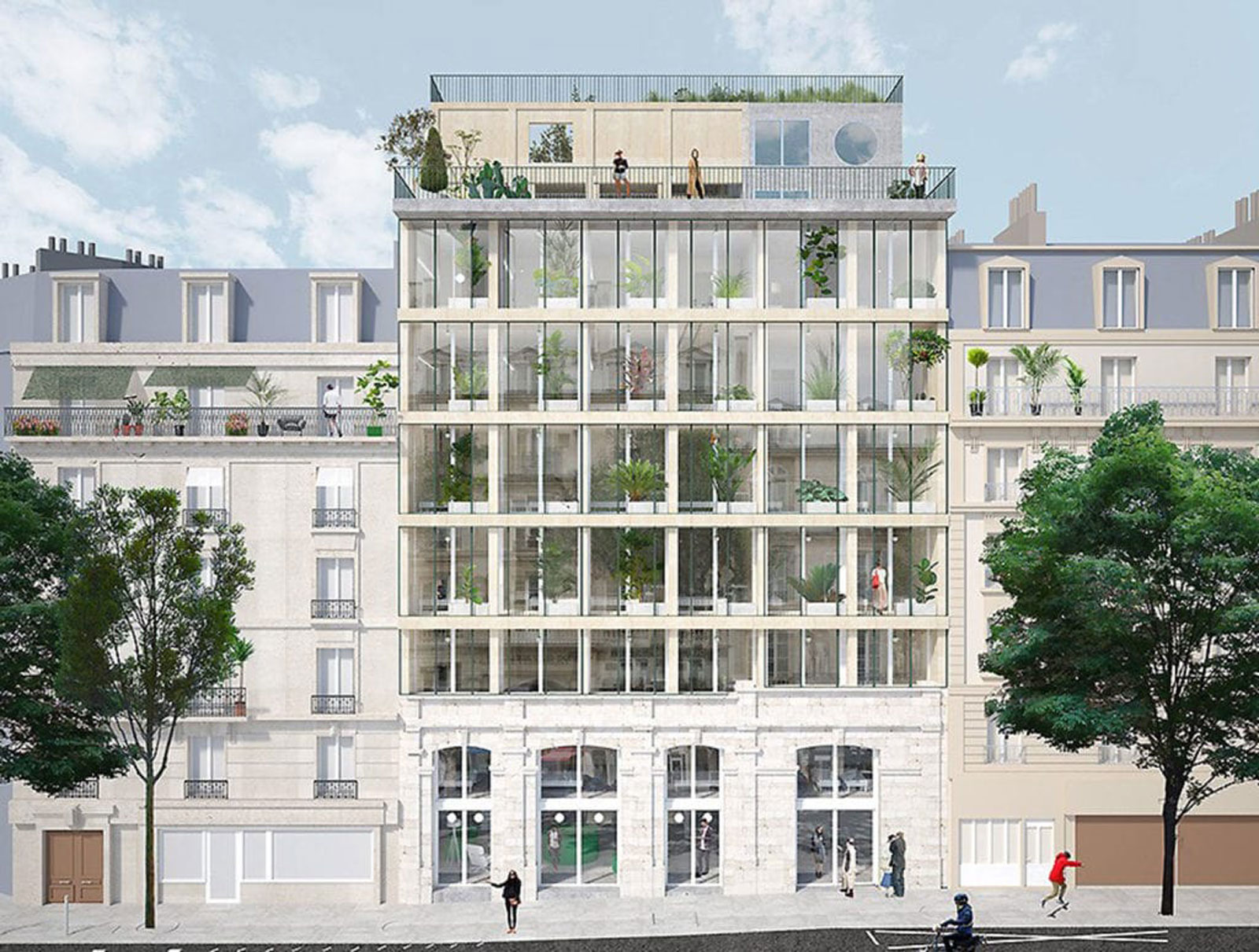 projet urbain paris reinventer paris laureat