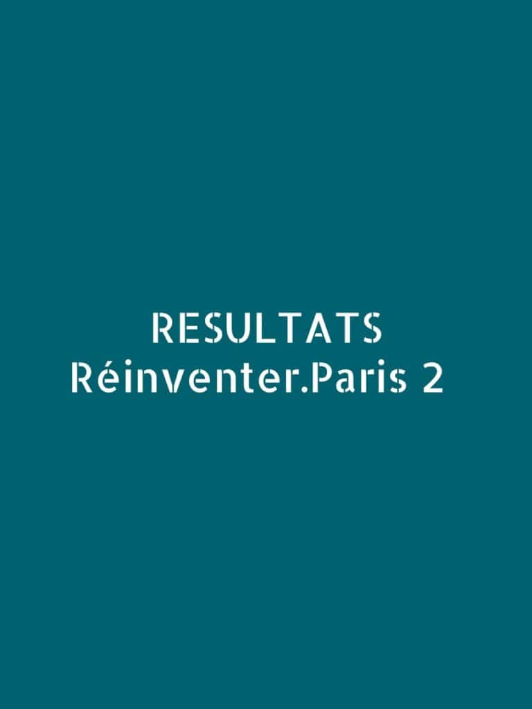 projet urbain paris reinventer paris laureat