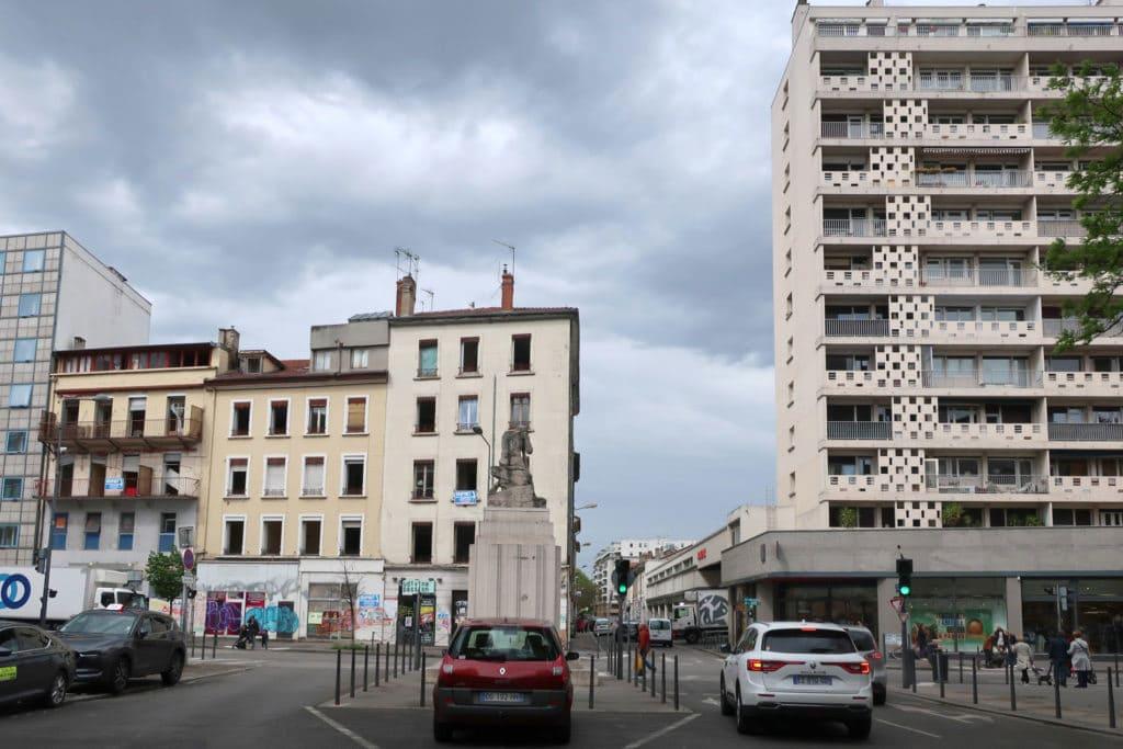 projet urbain villeurbanne gratte ciel